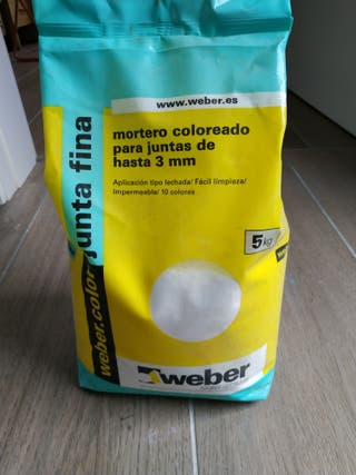 pasta juntas blanca weber