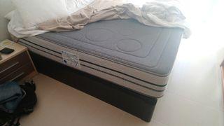 canape más colchón visco altura 32cm aprox mesitas