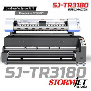 Impresora de sublimacion para banderas StormJet