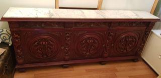 Mueble antiguo aparador taquillon alacena