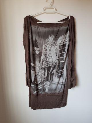 Camiseta manga larga talla S/M