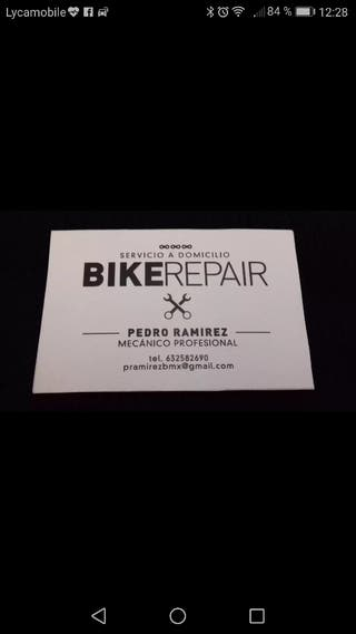 mecanico y service de bici -bicicleta- bike