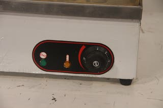 Plancha eléctrica hostelería