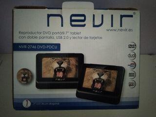 Reproductor DVD portàtil per cotxe