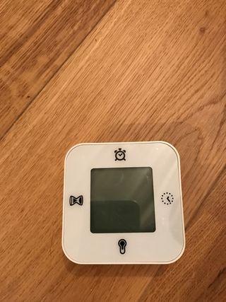 Reloj termómetro alarma Ikea