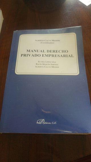 manual derecho privado empresarial.
