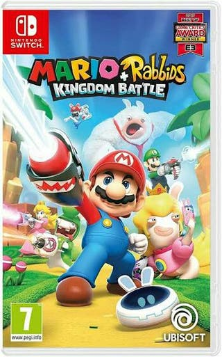 Mario Rabbits. Nintendo Switch.