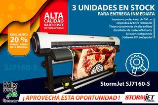 StormJet SJ7160-S impresora ecosolvente OFERTA