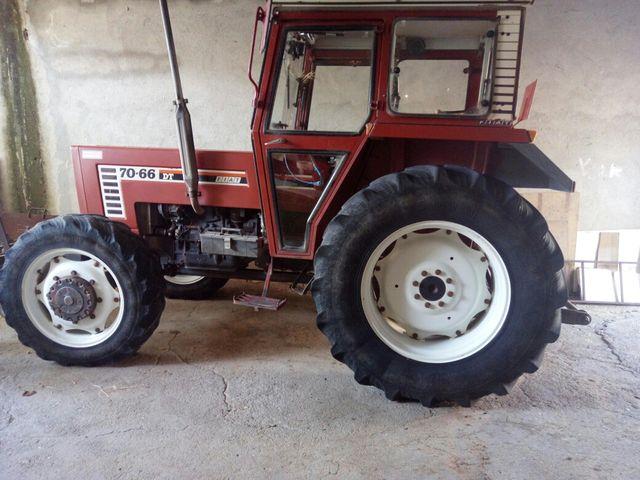 tractor fiat de segunda mano por 14.000 € en recas en wallapop