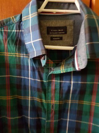 camisa de zara , talla S
