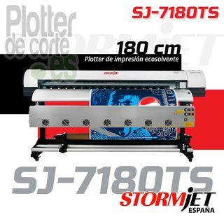 Impresora ecosolvente 180 cm rotulos vinilos lona