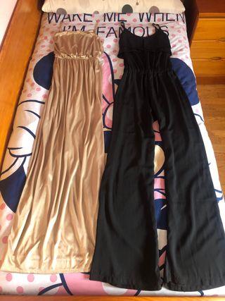 Vestido y Mono largos