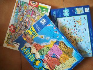 pack de 3 puzzles