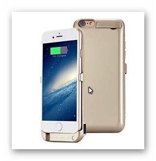 Funda con bateria para iPhone 6/6S Plus 8000mAh