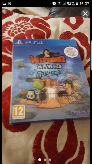 ps4 worms game