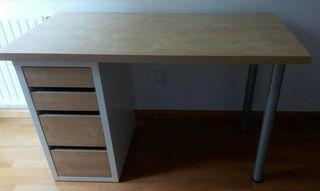Escritorio y cajonera Ikea