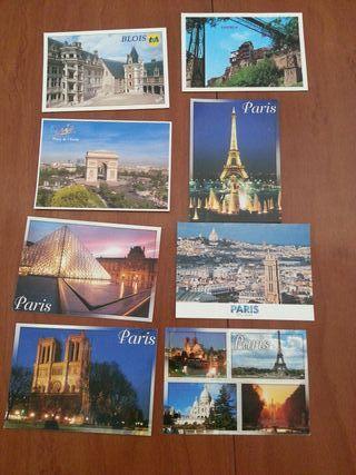 8 postales París-Cuenca