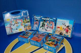 Lote 7 cajas Playmobil-SET DEPORTES