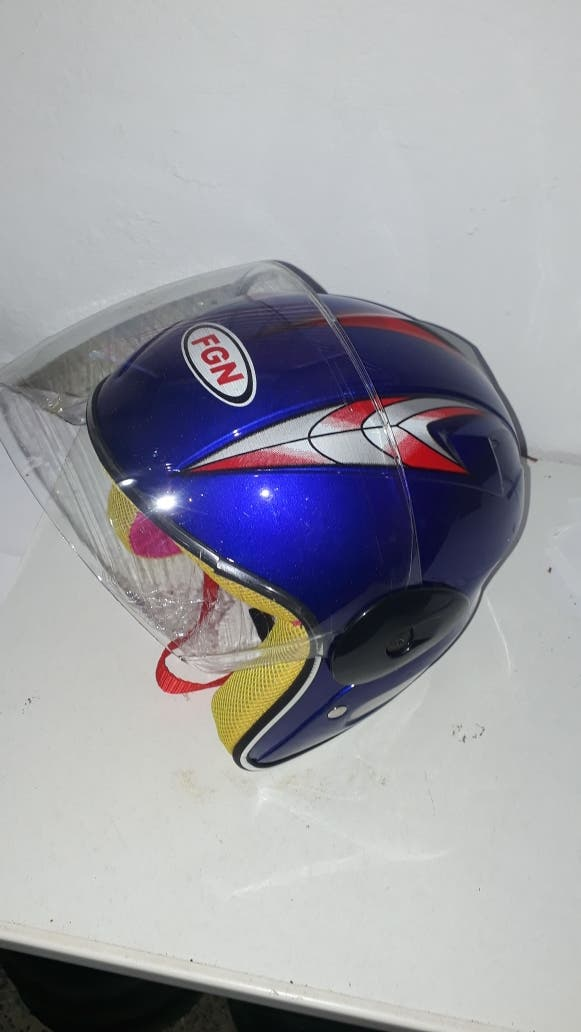 casco niño minimoto