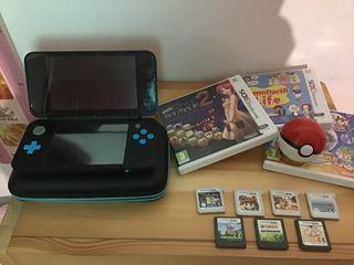 New Nintendo 2DS XL + Juegos y complementos