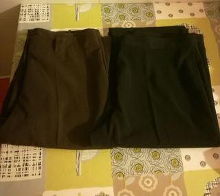 Pantalones vestir 48 talla mujer 2 BdOqwB