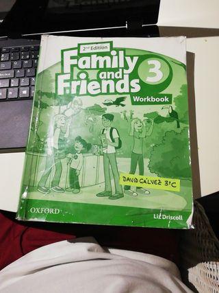 libro inglés workbook 3° primaria