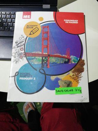 libro social science activity book 3° primaria