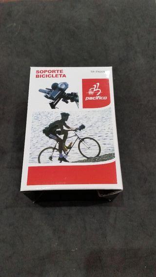 Soporte de móvil para bicicleta.