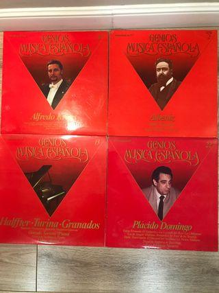 Vinilos LP Genios de la música española