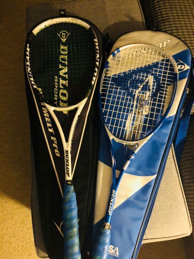 Squash Racquets Dunlop