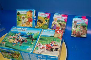 Lote 5 CAJAS Playmobil-GRANJEROS