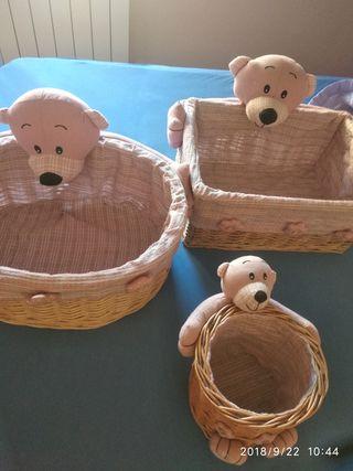 cestos infantiles