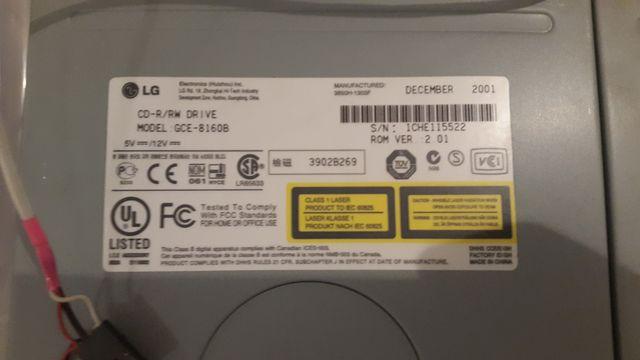 Pack Grabadora CD - Lector DVD-ROM - Disketera
