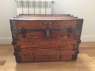 Mueble ba l de madera estilo vintage de segunda mano por 90 en madrid en wallapop - Muebles segunda mano madrid particulares ...