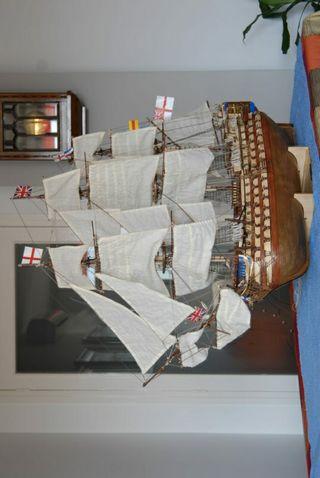 Maqueta HMS Barco Victory