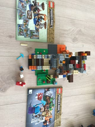 Lego 21116 crafting box minecraft
