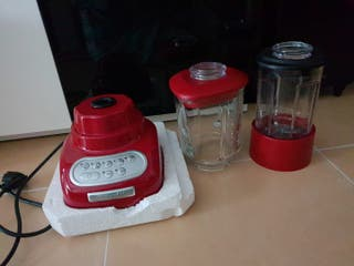 Batidora de vaso de color rojo KitchenAid