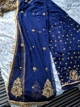 luxury indian sharara dress medium (38)