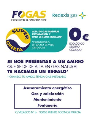 ALTA GAS NATURAL GRATIS 0€