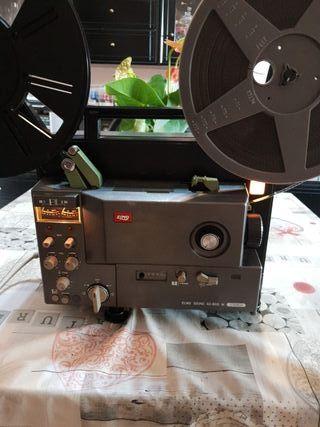 proyector super 8 elmo gs 800 estéreo nuevo