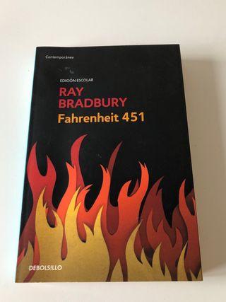 Libro 'Fahrenheit 451'