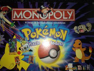 monopoly pokemon de edicion coleccionista