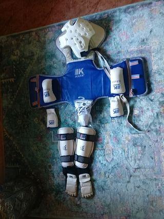 equipacion completa taekwondo
