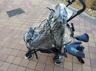 Carrito tijera bebé confort con patinete