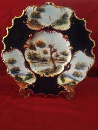 plató mui grande de cerámica