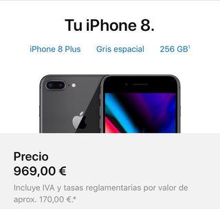 Iphone 8 plus 256gb Precintado