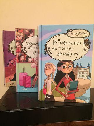 1 a 3 Libros: Torres de Malory