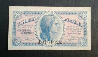 billete antiguo español