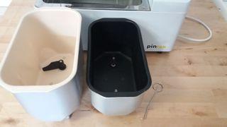 Panificadora pin pan 1.3 + cuba porcelana ceramica