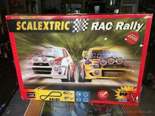 Circuito Scalextric RAC rally, mas muchos mas acc.
